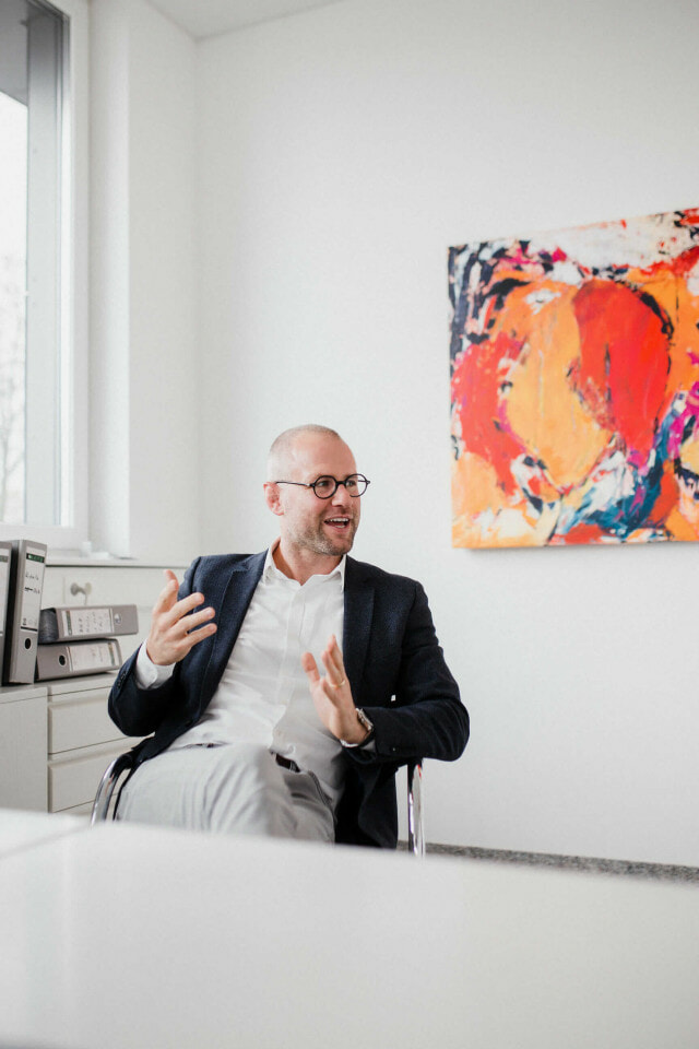 Reportagefoto Fachanwalt Erbrecht Dennis Blum BlumLang Rechtsanwälte